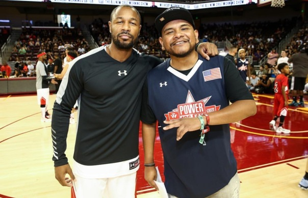 TANK - Westpoppn.com - Celebrity charity basketball game with Power 106 at USC