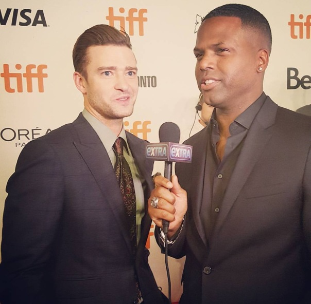 AJ from the EXTRA tv wiTh Justin TIMBERLAKE - Westpoppn.com