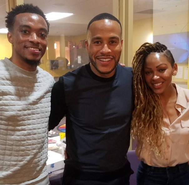 Jon McReynolds /Megan Good and husband &
