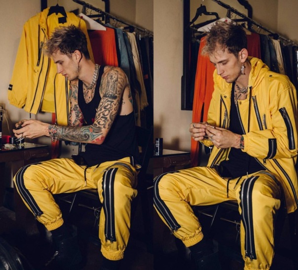 Machine gun Kelly - at Belasco theatre - WESTPOPPN.com
