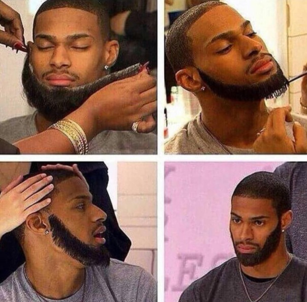 Men lace beard frontals🤔 -WESTPOPPN.cm