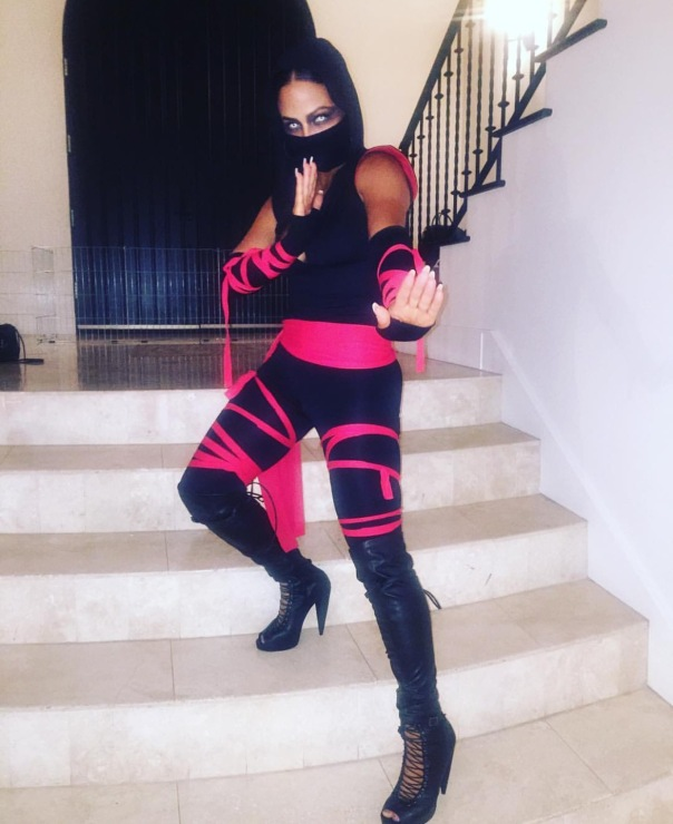 Christina Milian - #Halloween2016 - Westpoppn.com