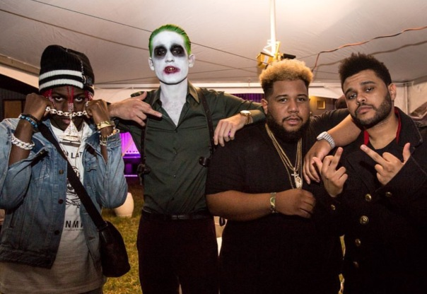 #Halloween2016 - The weekend, G-eazy lil etc.. Westpoppn.com