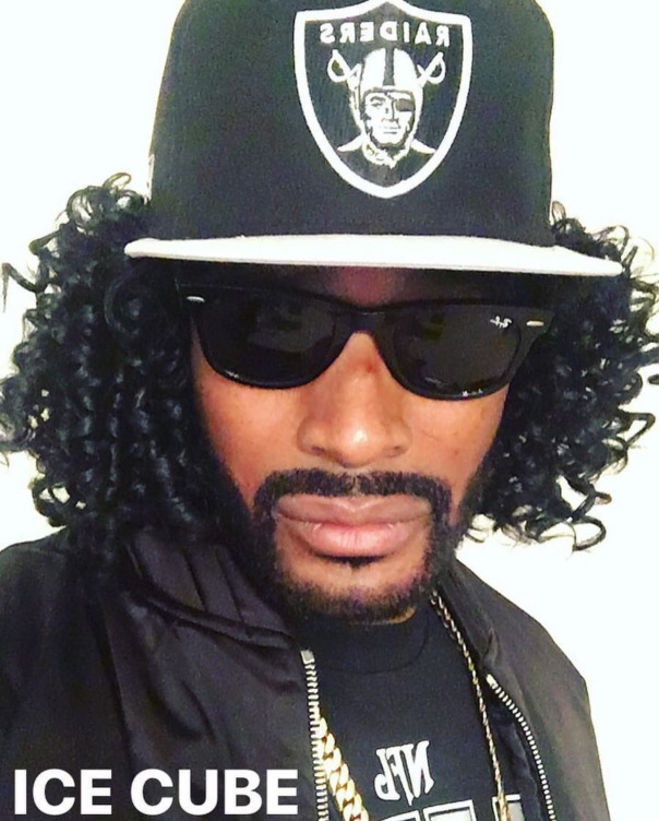 Tyson Beckford as ice cube #Halloween2016 -WESTPOPPN.com