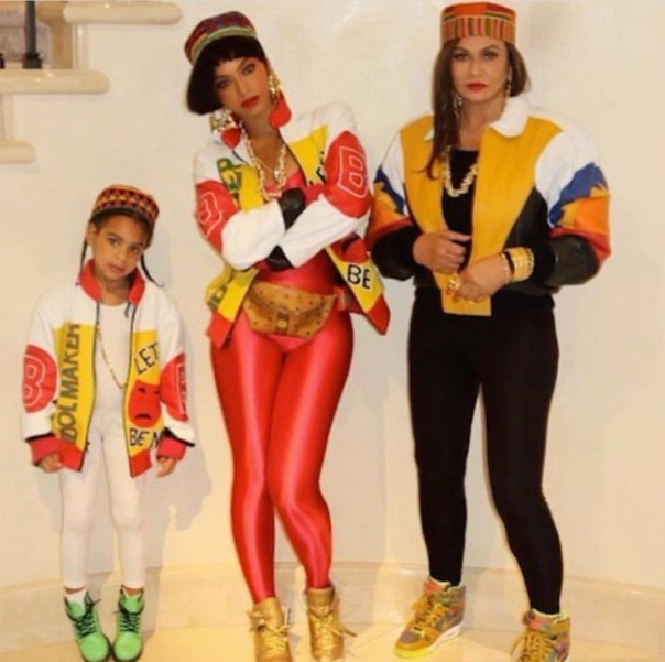Salt n pepA - Beyoncé , her mom and daughter - Westpoppn.com