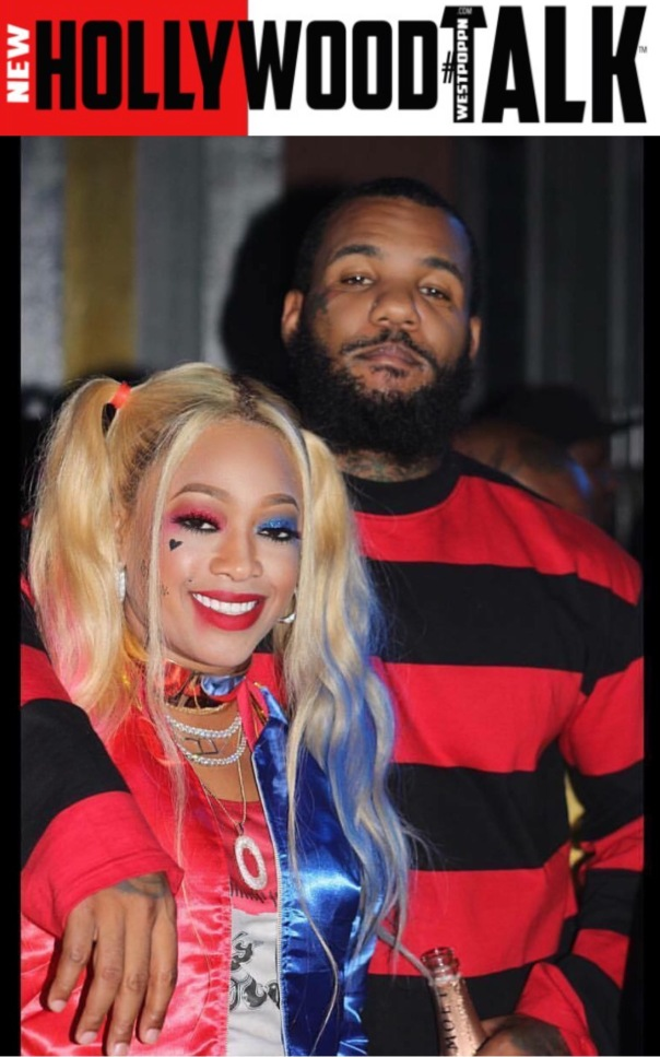 TRINA AND rapper GAME #halloween2016 - WESTPOPPN.com