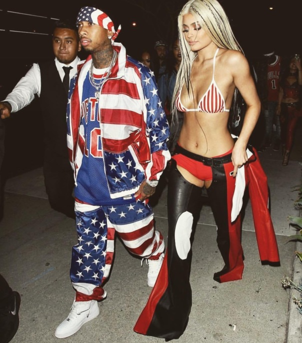 Tyga and Kylie #halloween2016 --WESTPOPPN.com
