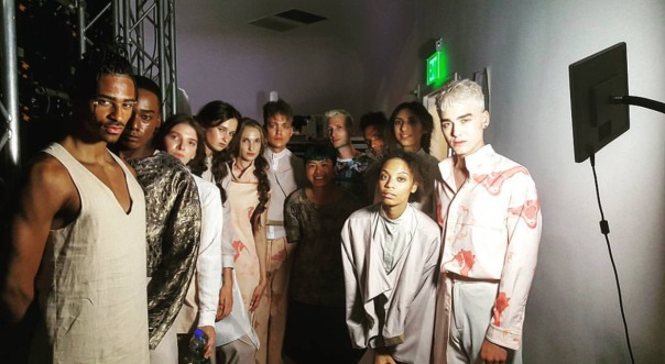 WESTPOPPN.com - #LAFW2016 /Models +Model Guy Jackson -