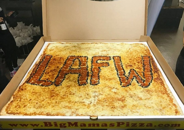 LA FASHION WEEK 2016 ✔️ #Lafw Pizza- WESTPOPPN.com