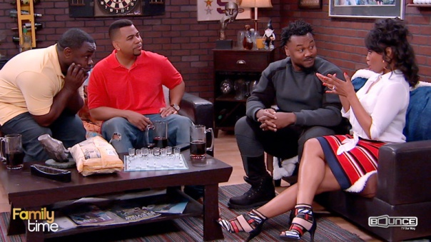 FAMILY TIME ON Bounce TV Bounce tv