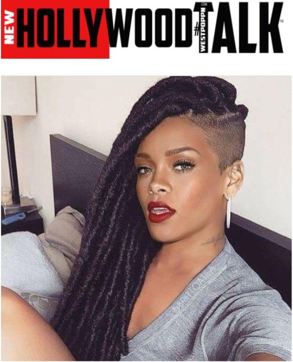 WESTPOPPN.com - Rihanna new braids hair du