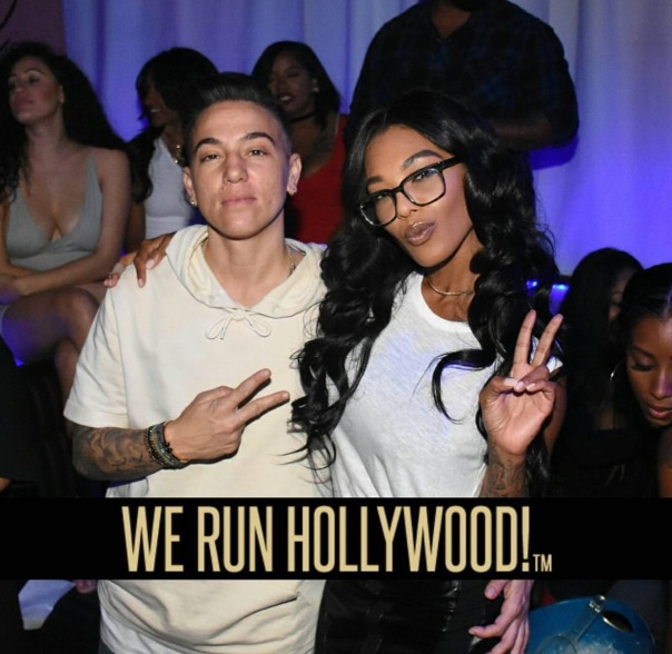 We run Hollywood spotted with Moniece Slaughter - WESTPOPPN.com