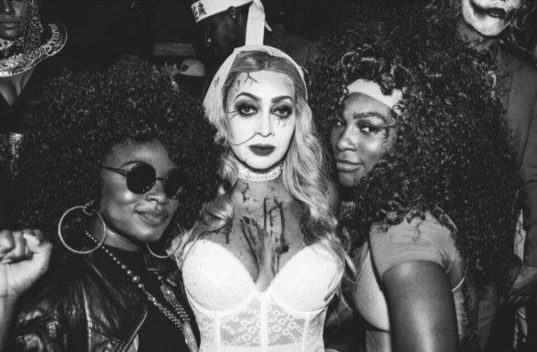 Naturi Naughton, LALA, & Serena Williams - halloween2016 -WESTPOPPN.com
