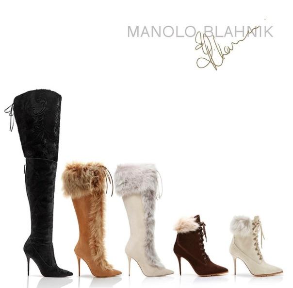 RihannaXManolo #SavageCollection - new shoe collection - WESTPOPPN.com
