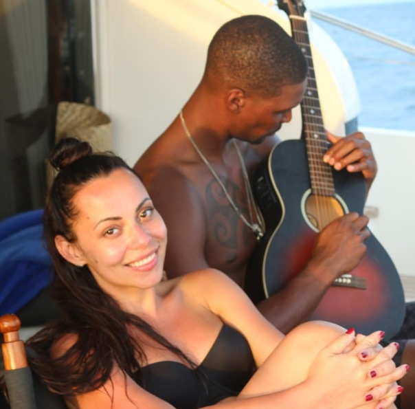 chris Bosh and wifey Adrienne Bosh #TheboshWorldTour - WESTPOPPN.com