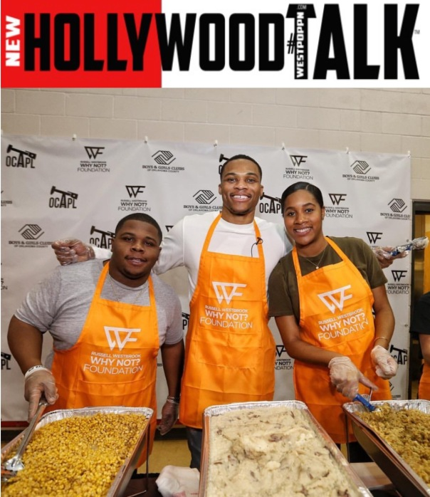 Russell Westbrook & the why not foundation -Westpoppn.com