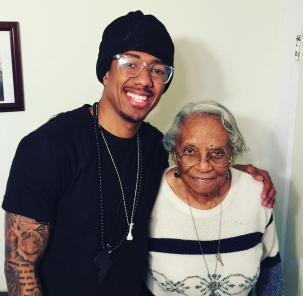 Nick Cannon and his great grandmother 97 - Westpoppn.com