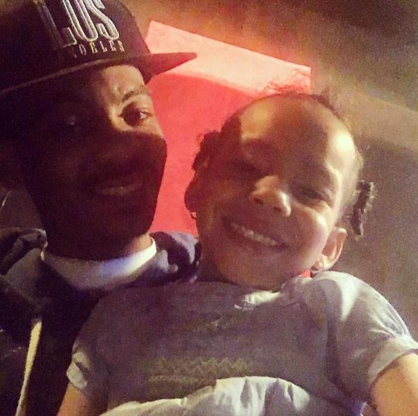 TEEFLII and his daughter indera jones - WEStpoppn.com
