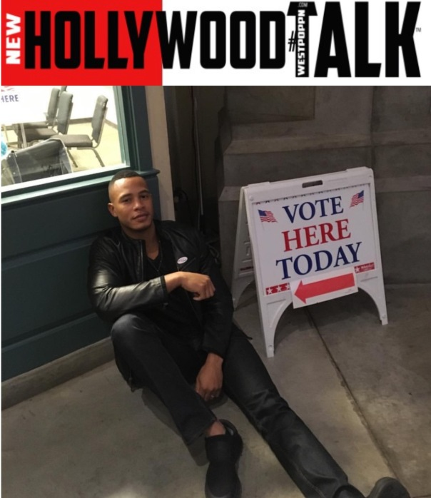 Trai Byers - Westpoppn.com - get out and VOTE -