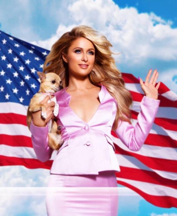 Paris Hilton sends out Go VOTE MESSAGE ✔️Westpoppn.com