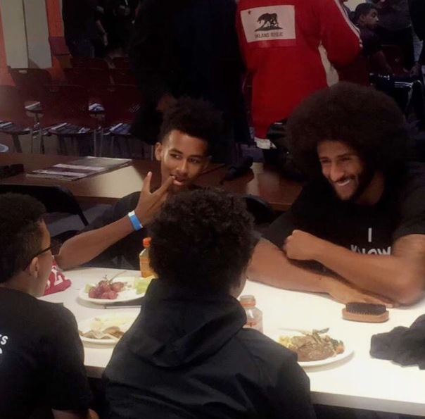 Colin KAEPERNICK at the #KYRC #KnowYourRightsCamp -WESTPOPPN.com