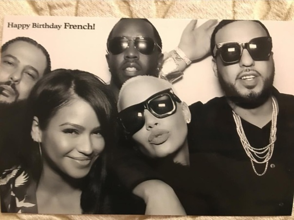 French Montana,Billy, diddy, Cassie, amber ros