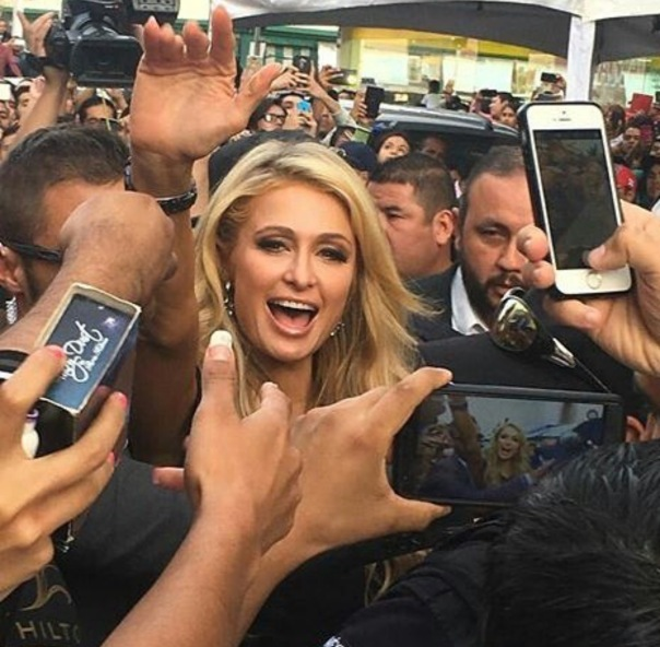 Paris Hilton releases her new #GOLDRUSH Fragrance and New #ParisHiltonShoes Line Collection WESTPOPPN.com