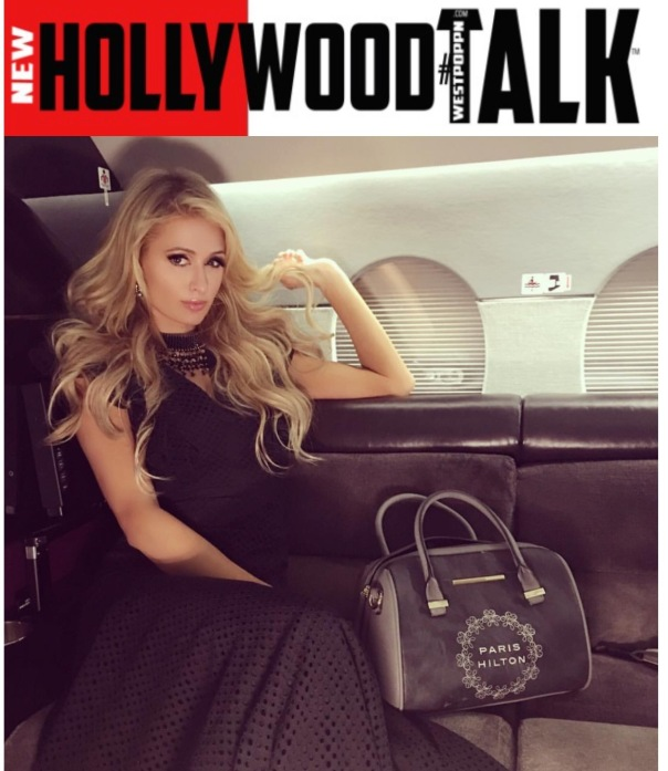 Paris Hilton new #GOLDRUSH Fragrance and NEW show line cOLLECTION -Westpoppn.com