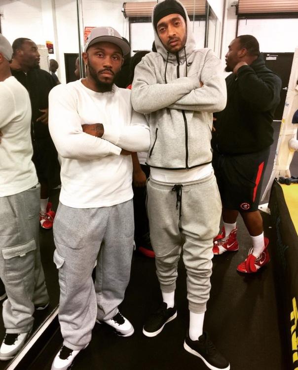 TMT boxer Ko bello & Nipsey Hussle - Westpoppn.com