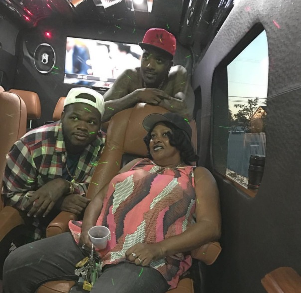 Ray J, Payso B and Grandma Phillis - WESTPOPPN.com