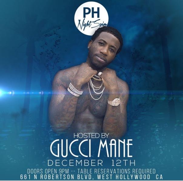 Gucci man at PH Night Swim in hollywood,Ca - WESTPOPPN.com
