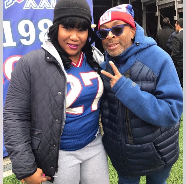 #NewyorkGiantsGame - Celtic cosmetics and spike Lee - Westpoppn.com