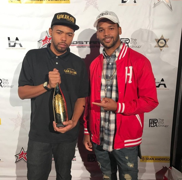 DJ Klepto & Dame Dash Son Boogie Dash - Big Sean hosted 3rd Annual Toy Drive w/Roadstarr - Westpoppn.com