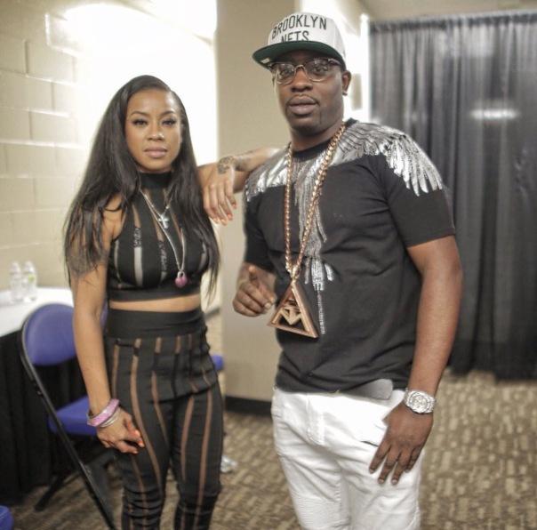 Keyshia Cole and uncle Murda - Westpoppn.com