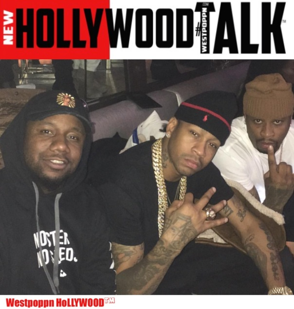 Hollywood#TALK™ - Murda mook, Allen Iverson and B Maze - Westpoppn.com