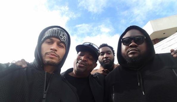 chuck d, badd lucc etc.. #DJCRAZYTOONES Funeral - Westpoppn.com