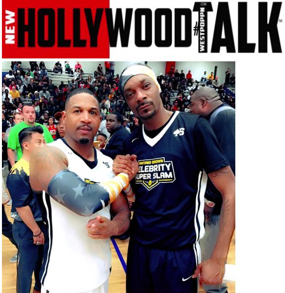 stevie j and snoop dogg -Celebrity basketball game -WESTPOPPN.COM