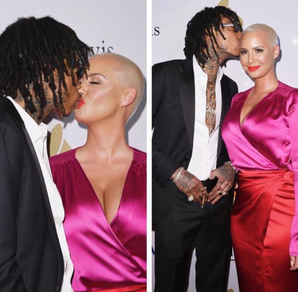 Are they Back- Wiz Khalifa & Amber Rose -WEStpoppn.com