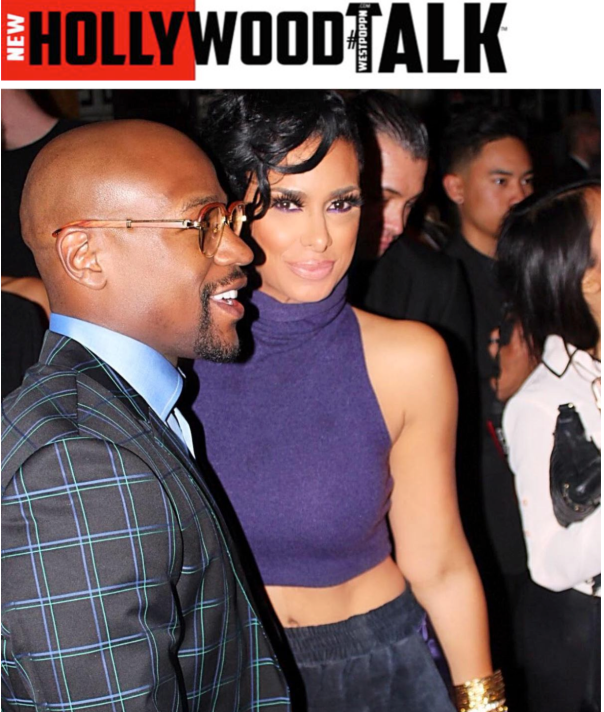 floyd Mayweather & Gloria Govan - private 40th birthday celebration - Westpoppn.com