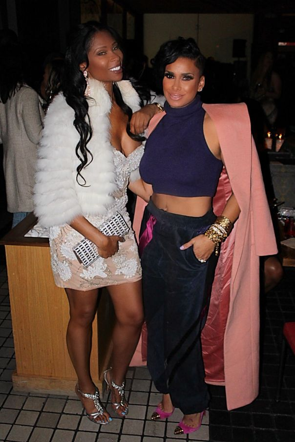 laura Govan - Floyd Mayweathers 40th private - Bday party - westpoppn.com