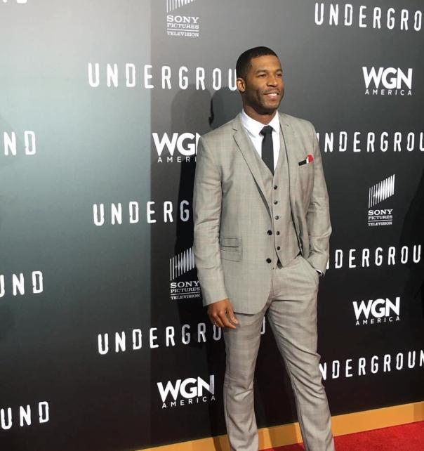 Actor Rob Riley - Underground season 2 Premiere - Westpoppn.com