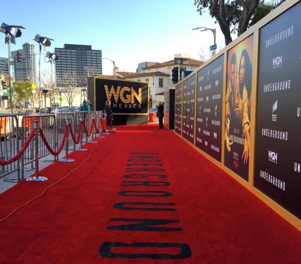 red carpet - #undergroundWGN season 2 premiere - Westpoppn.com