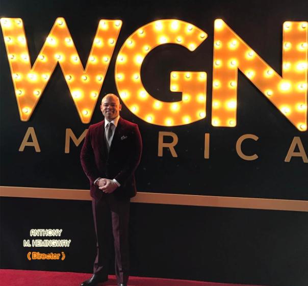 ANTHONY M. HEMINGWAY - Director / #undergroundWGN - Season 2 premiere - Westpoppn.com