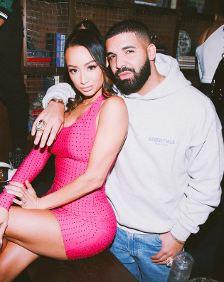 DRAYA and DRAKE at Draya's Launch collab with #SuperDown - WESTPOPPN.COM